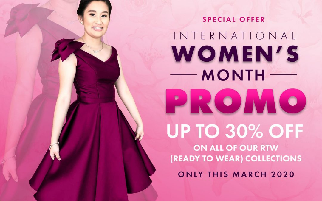 SPECIAL OFFER!!!!  In celebration of International Women's Month, Crislene …